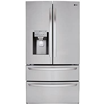 LG LMXS28626S 28 cu.ft. 4-Door French Door Refrigerator Stainless Steel