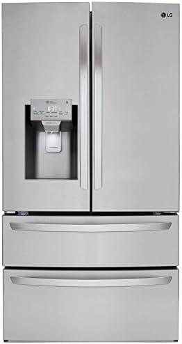 Amazon.com: LG lmxs28626s 28 Cu Ft. 4 puertas puerta ...