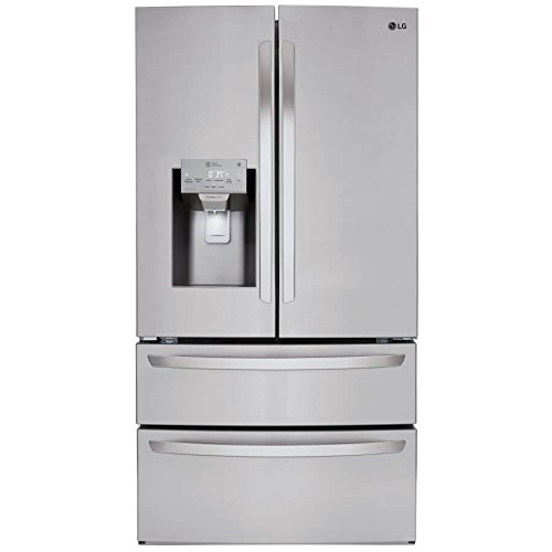 LG LMXS28626S 28 cu.ft. 4-Door French Door Refrigerator – Stainless Steel