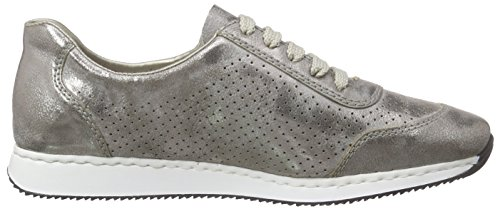 56016 Top Grey Rieker 40 Women Low Gris Basses Femme Sneakers pCwqPdw