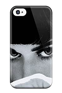 Iphone 4/4s Katy Perry Closeup Hot Brunette Pop Star People Women Print High Quality Tpu Gel Frame Case Cover