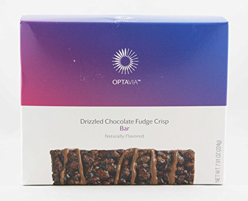 Optavia Drizzled Chocolate Fudge Crisp Bar - 7 Servings by Optavia