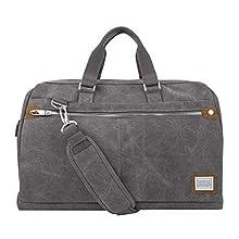 Travelon: Heritage Weekender Carryall Duffel Bag - Pewter