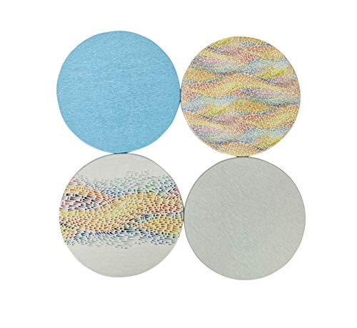 Lp High Altitude (4 Pack Diatomaceous Trivets Mat Heat Resistant & Eco-Friendly Potholder Hot Pads for Hot Dishes or Table Countertops Pots and Pans,Absorbent Dries Quickly Easy Clean)
