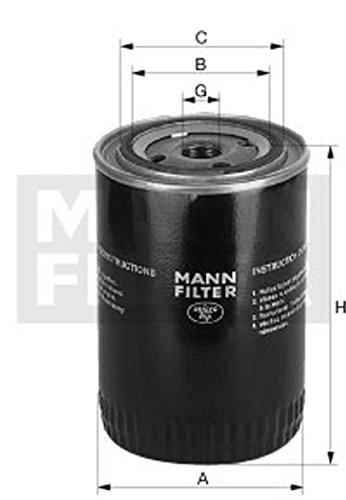 Mann Filter W 1374/4 Hydraulic Filter For Automatic Gearbox MANN & HUMMEL GMBH W1374/4