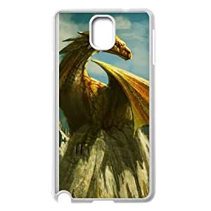dragon paining art Samsung Galaxy Note 3 Cell Phone Case White Custom Made pp7gy_7191872