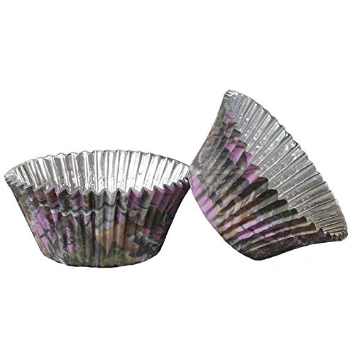 Pink Camo Cupcake Liners (36 pack, foil backed, Hi Def.color will not fade) Pink Camo Party Collection by Havercamp