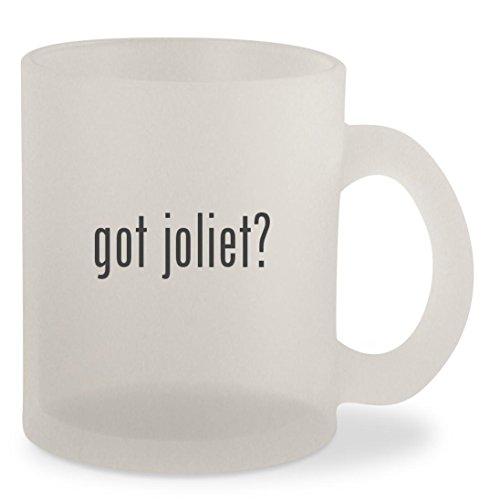 got joliet? - Frosted 10oz Glass Coffee Cup - Malls Il In Joliet