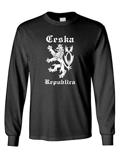 GOOZLER CESKA Cotton Sleeved T Shirt