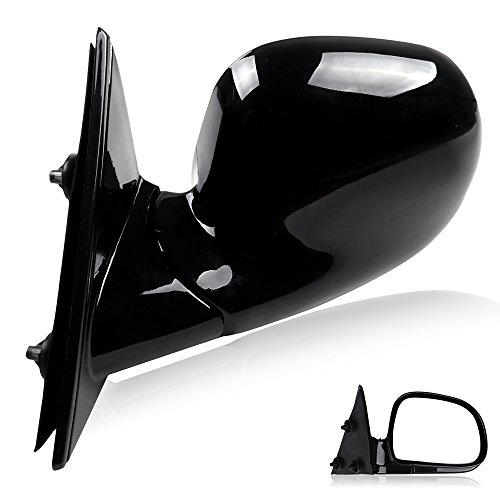(ECCPP Side Mirror Replacement for Chevy Blazer S10 GMC Jimmy S-15 Sonoma Towing Mirror Manual for 1994 1995 1996 1997 1998 (Left Side) )