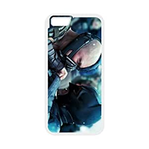 Protective TPU cover case the dark knight rises 2012 iPhone 6 Plus 5.5 Inch Cell Phone Case White