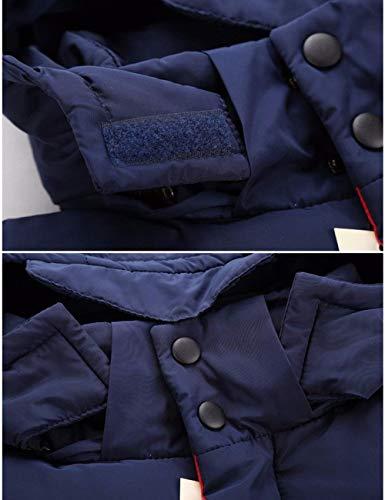 Uomo Uomo Casual College College Capispalla Libero Moda Tempo con Inverno Gilet Gilet Caldo Senza da Rot Maniche Trapuntato Moderna da Cappotto Cappuccio Autunno 85nXqx