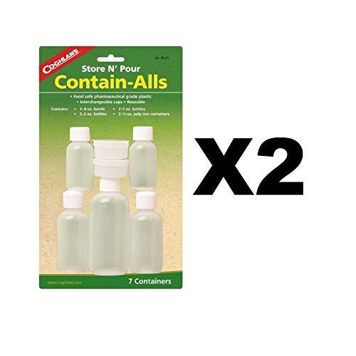 Coghlans 8525 Store & Pour Contain-Alls Plastic ()