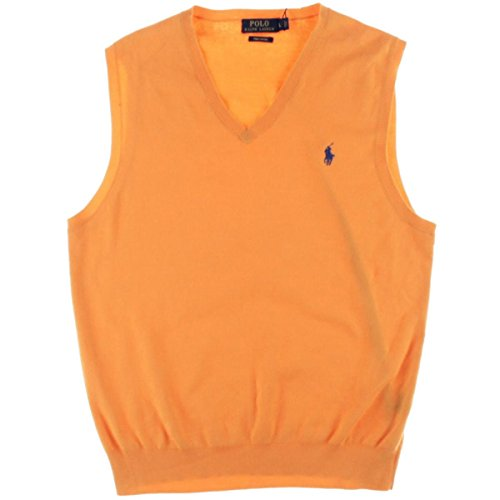 Polo Ralph Lauren Men's V-Neck Sweater Vest (XL, (Ralph Lauren V-neck Sweater Vest)
