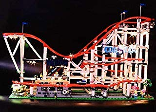 Roller Light - brickled Light Kit for Lego Creator Roller Coaster 10261 (Lego Set not Included)