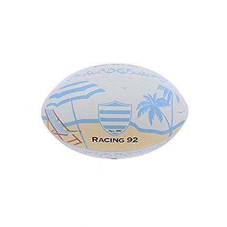 Balón Rugby - Beach Racing 92, talla 4 - Racing 1882, multicolor ...