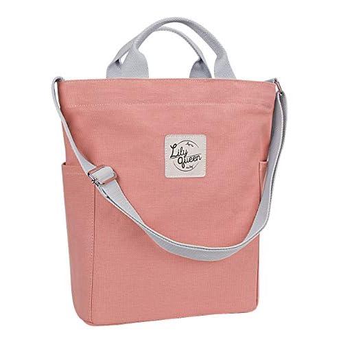 Lily Queen Women Casual Canvas Tote Handbags