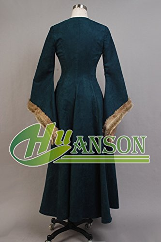CosplaySky Game of Thrones Costume Catelyn Stark Dress Coat Medium by Cosplaysky (Image #3)