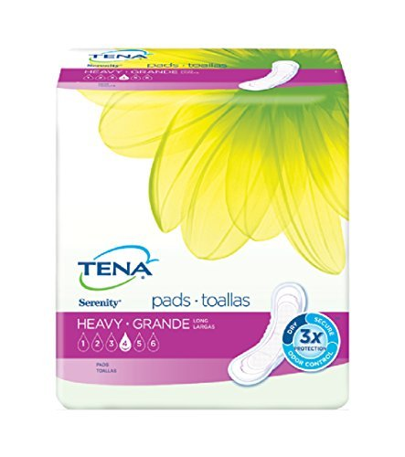 (TENA Serenity Ultra Plus Heavy Absorbency Pads 15