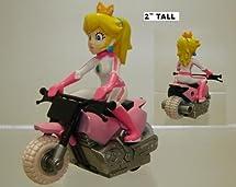 Mario Kart Wii Pull Back Racers Princess Peach On Bike