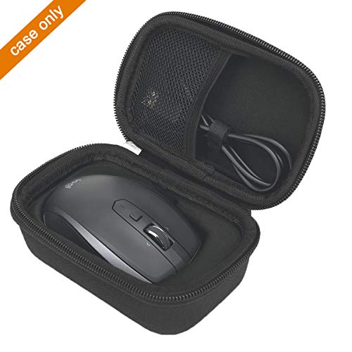 Hard Carrying Travel Case Bag Compatible with Logitech MX Anywhere 1 2 Gen 2S Wireless Mobile Mouse by -