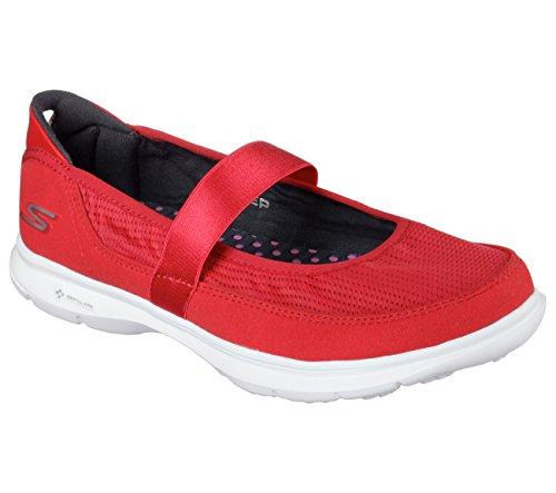 Skechers Womens Go Marche Go Step Chaussures Dorigine Rouge