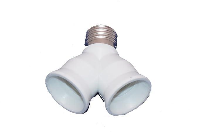 Portalampada e doppio per lampada a basso consumo e tipologia