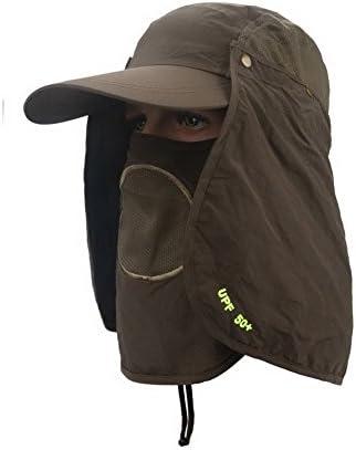 Crazyカート360度UV保護太陽帽子釣り帽子アウトドア野球キャップ速乾性通気性アウトドア多機能