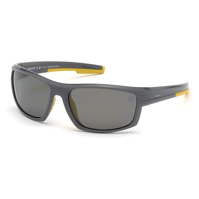 Timberland TB9171 Gafas de Sol, Gris (Grey/Other/Smoke ...