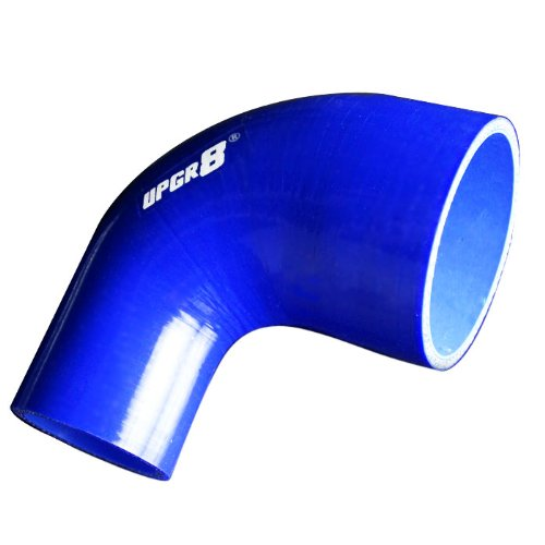 (Upgr8 Universal 4-Ply High Performance 90 Degree Elbow Reducer Coupler Silicone Hose (2.0