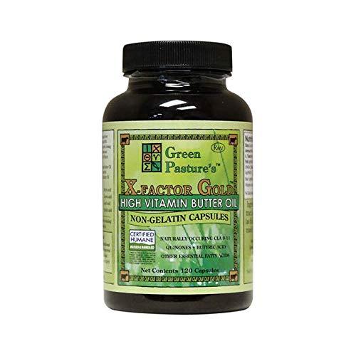(X-Factor Gold High Vitamin Butter Oil 120 Caps)