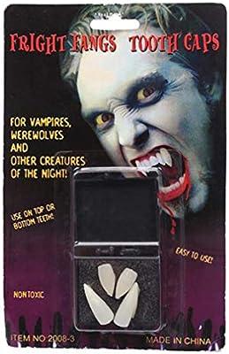 Zombie Vampire Denture Teeth Halloween Prop Ghost Devil Fang Party Scary Too