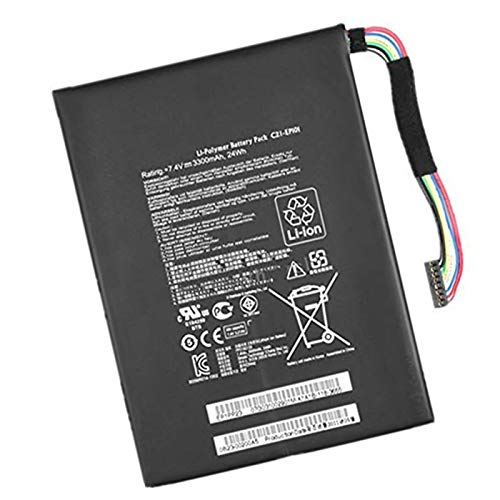 BOWEIRUI Replacement Laptop Battery for Asus C21-EP101 (7.4V 24Wh 3300mAh) Eee Transformer TR101 TF101 Eee Pad Transformer TR101 TF101 Mobile Docking TF101 Series C21-EP1O1 C21EP101
