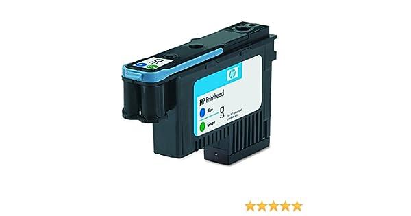HP C9408A - Cabezal de impresión, 130 ml, Verde/Azul: Hp: Amazon ...