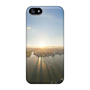 High-quality Durability Case For Iphone 5/5s(panorama From Wtc)