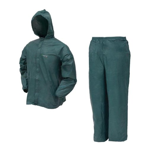 Frogg Toggs UL12104-09MD Ultra Lite Rain Suit, Green, Medium