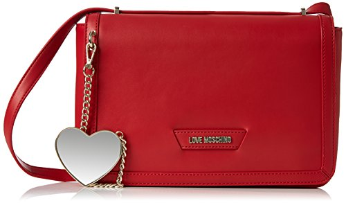 Moschino Donna Borse JC4073PP15 JC4073PP15 TRACOLLA LOVE Rosso (Red)