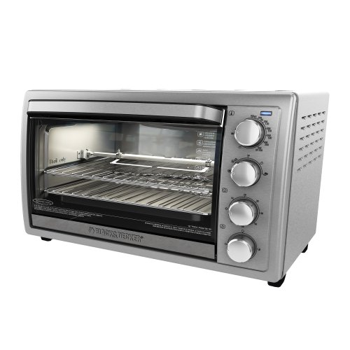 black-decker-to4314ssd-rotisserie-convection-countertop-toaster-oven-silver