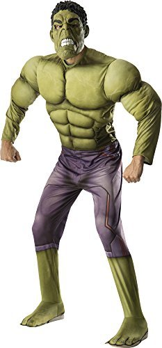 Adult Avengers 2 Deluxe Hulk Costume by Incredible Hulk