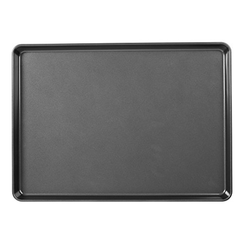 Wilton 2105-0109 Perfect Results Non-Stick Mega Large Cookie Pan, 15 x 21 inch, Metallic Silver