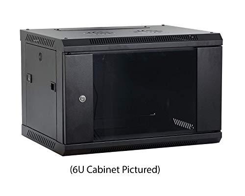 Kenuco 9U Wall Mount Rack Server Cabinet Data Network Enclos