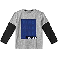 Camiseta Tigor T. Tigre Cinza Bebê Menino