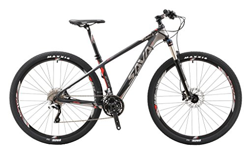 SAVADECK 700 Carbon Fiber Mountain Bike 29″ Complete Hard Tail MTB Bicycle 22 Speed SHIMANO 8000 DEORE XT Manituo M30 Suspension Fork Maxxis Tire For Sale