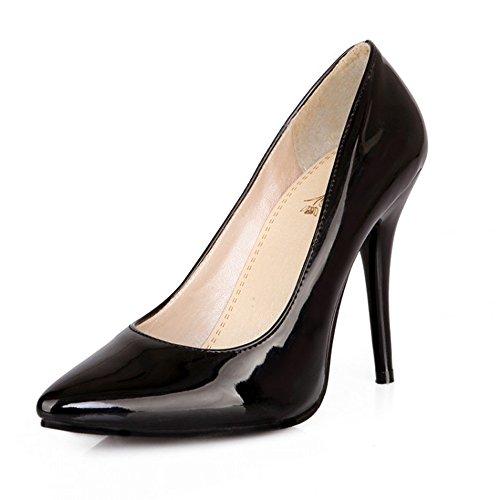 LongFengMa Sint de Material Vestir Zapatos de 77rZO1