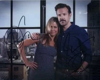 Jennifer Aniston and Jason Sudeikis In Person Autographed Photo