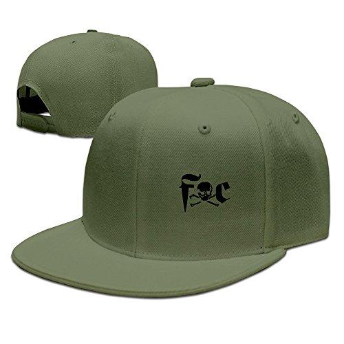 Fuck Cancer Adjustable Bill Hat Baseball Caps ForestGreen