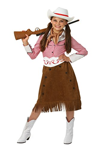 Charlie Chaplin Costume Kids (Girls Rodeo Cowgirl Costume Large (12-14))