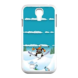 Samsung Galaxy S4 9500 Cell Phone Case White Winter Sports Plants Vs Zombies W5R8RB