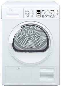 Neff R7380X1EU Independiente Carga frontal 7kg B Color blanco - Secadora (Independiente, Carga frontal, Condensación, B, Color blanco, Derecho)