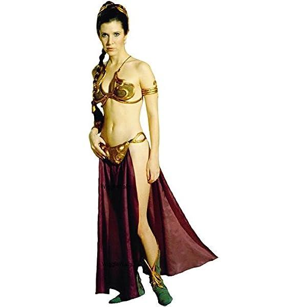 Amazon Com 9 Inch Princess Leia Organa Jabba S Slave Girl Outfit